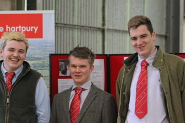Image for Going once, twice, sold! Hartpury students shine in auctioneering challenge