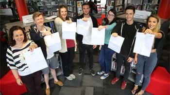 Results on the rise again as more Hartpury students celebrate first choice places