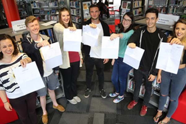 Image for Results on the rise again as more Hartpury students celebrate first choice places