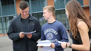 Hartpury on a high as students celebrate A-level results rise