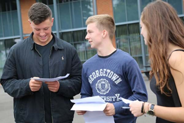 Image for Hartpury on a high as students celebrate A-level results rise