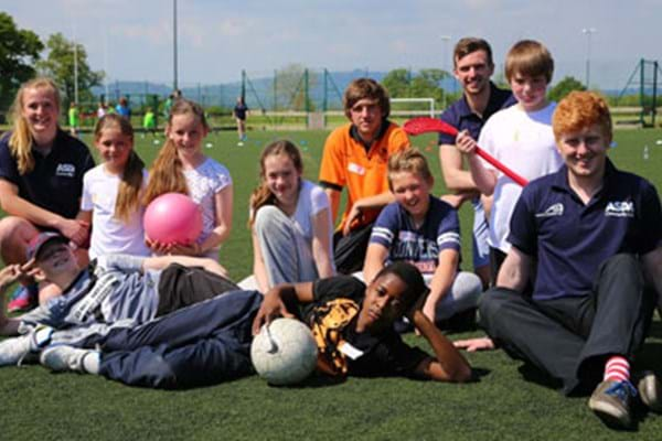 Image for Kingsholm kids kick on Olympic legacy with help of Hartpury