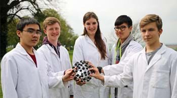 Rachel is golden girl as Hartpury students shine in science showdown