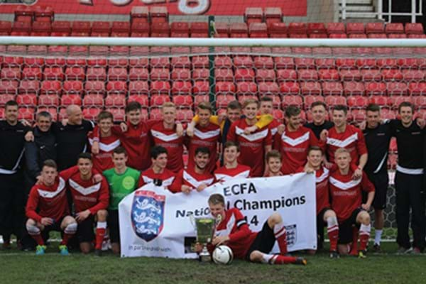 Image for International honours await as Hartpury football heads to Rome