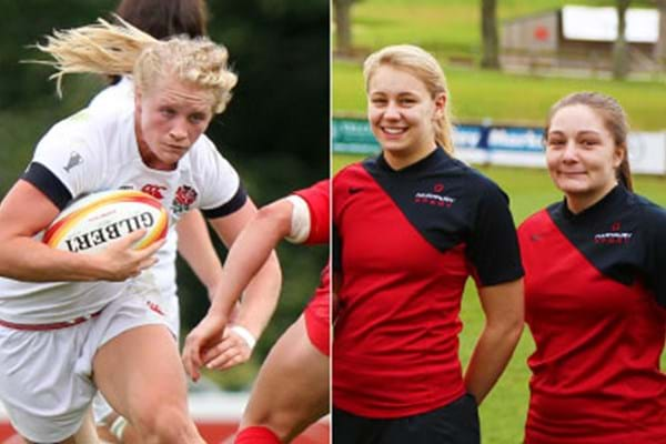 Image for Debut delight as Millie joins host of Hartpury products in England squad