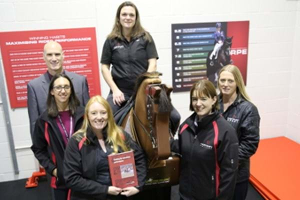 Image for Hartpury lecturers help equestrian competitors jump over training hurdles with expert advice in new book