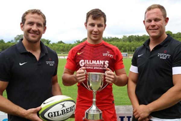 Image for Hartpury duo set to put emerging oriental side on express track to rugby recognition