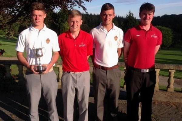 Image for Gloucestershire produce clean sweep at golf championships