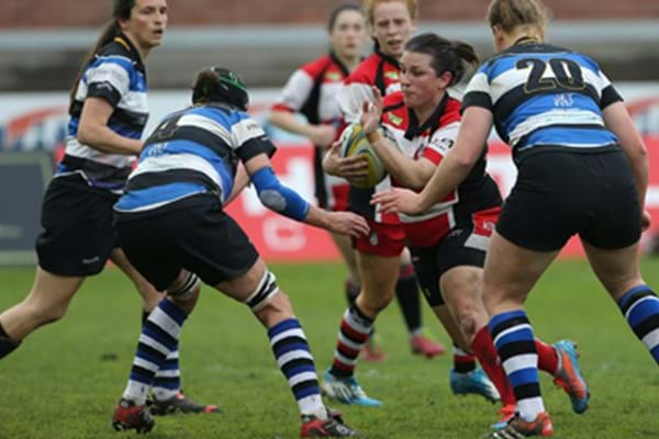 Image for Gloucester-Harptury show their class to seal win over Bath Ladies