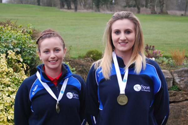 Image for Hartpury golfers grab glory at Gloucestershire championships