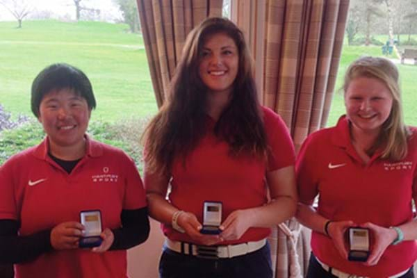 Image for Golfing girls bag brace of national titles for Hartpury