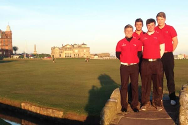 Image for Top three for Hartpury golfers