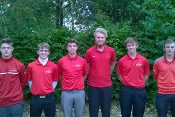 Image for Double delight as Hartpury golfers record comfortable wins in title defence