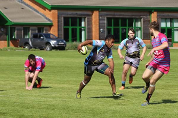 Image for Bandits shoot to success as sevens stars show off silky skills in sunshine