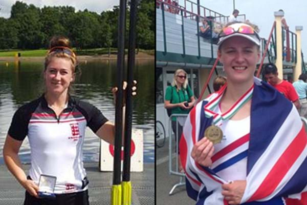 Image for Successful spell at international level for Gloucester-Hartpury rowers