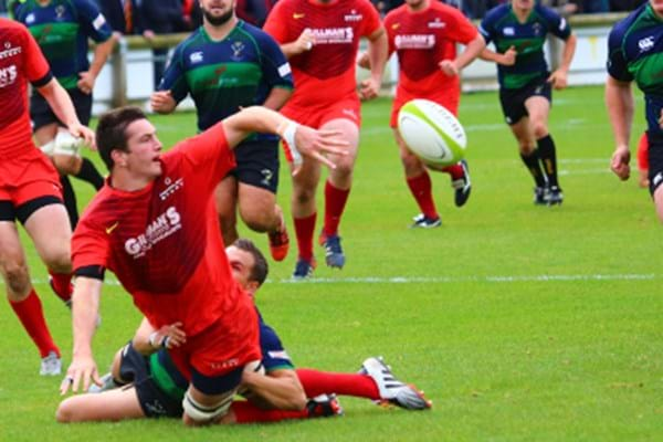 Image for Hartpury hit top spot after derby win