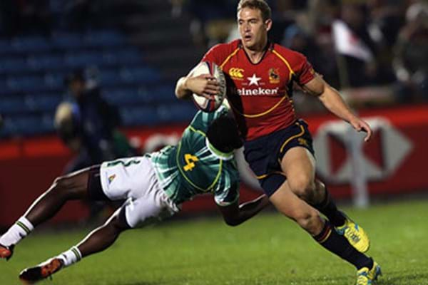 Image for Hartpury's Spain sevens star Jaike Carter privileged to have played at Twickenham