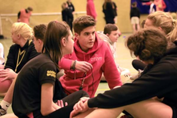 Image for Hartpury students deliver whistle-stop refereeing course to Forest pupils