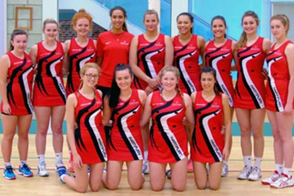 Image for Hartpury netballers claim national title with hundred goal haul