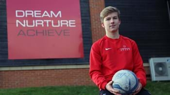 Hartpury talent's winning mix of science and soccer acts as catalyst for Cambridge call