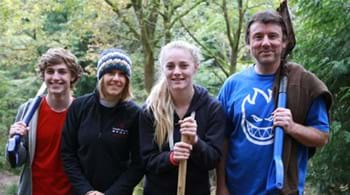 Hartpury students tackling trails to boost biking and business