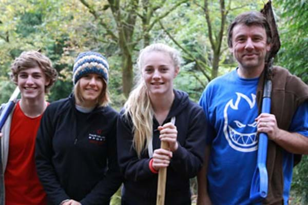 Image for Hartpury students tackling trails to boost biking and business