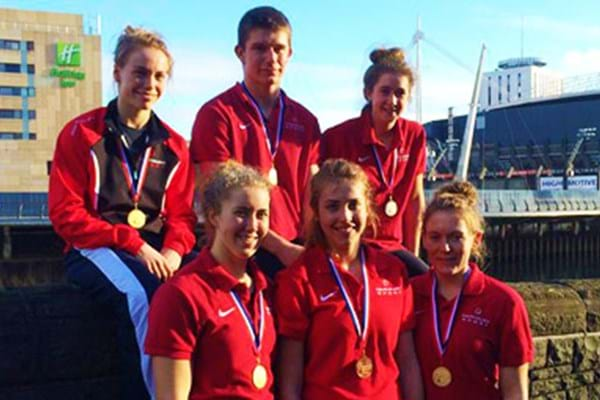 Image for Hartpury rowers blow British Indoor Championships out of the water
