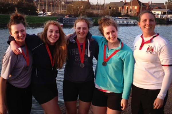 Image for Promise for Hartpury rowers at Great Britain trials