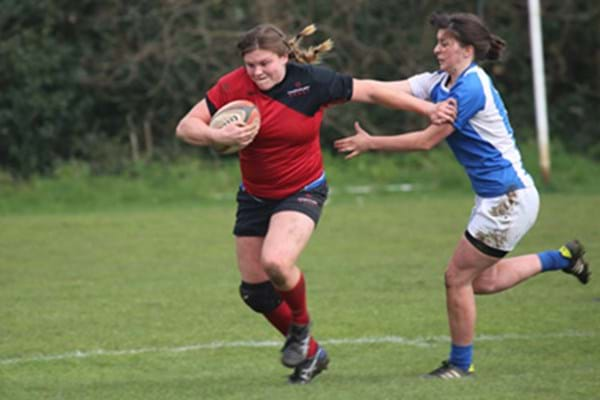 Image for Hat-trick Hartpury romp to victory at Rosslyn Park