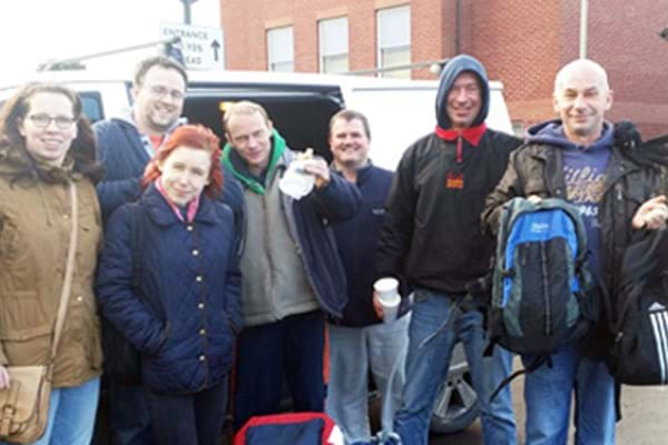 Image for Hartpury's helping hand gives winter warmth to county's homeless