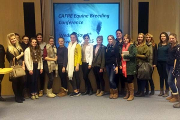 Image for Hartpury students get inside track on breeding the best on Northern Ireland trip