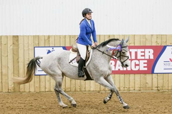 Image for Sampson shows class at Hartpury spectacular