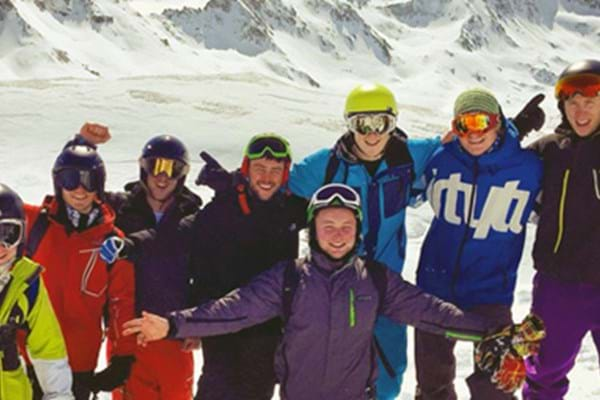 Image for Hartpury students hit the slopes