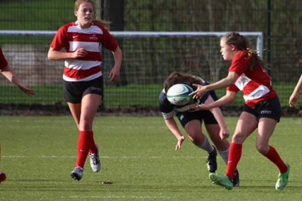 Image for Hartpury show off sevens skills ahead of Worcester clash