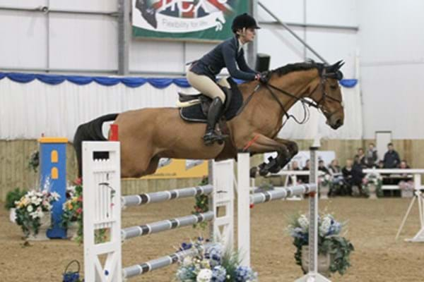 Image for Talented Tillie in sparkling showjumping form