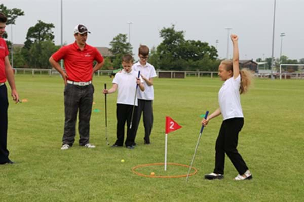 Image for Hartpury Tri-Golf final a swinging success as Finlay Road School come out on top