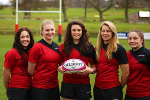 Image for Hartpury's Red Rose five bloom for England