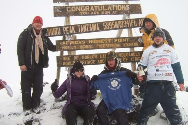 Image for Hartpury's Kathryn spends unforgettable New Year's Day on Mount Kilimanjaro on charity trek