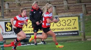 Gloucester-Hartpury win in the wet to continue title charge