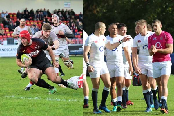 Image for Hartpury help England to hone in ahead of Wales game