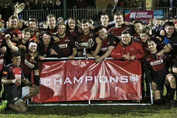 Image for Hartpury scoop Student Team of the Year award ahead of Twickenham final