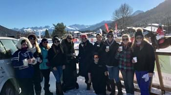 Hartpury students set off to Seefeld for snow polo