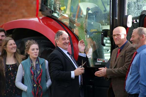 Image for Hands-on Hartpury degree gets national seal of approval from Farmers Union at launch event