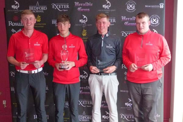 Image for Hartpury golfers grab national nett title for the second time