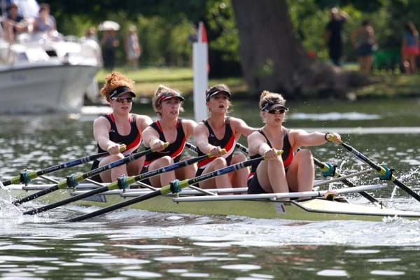 Image for Hartpury rowers race to course record as the college claims fifth straight title