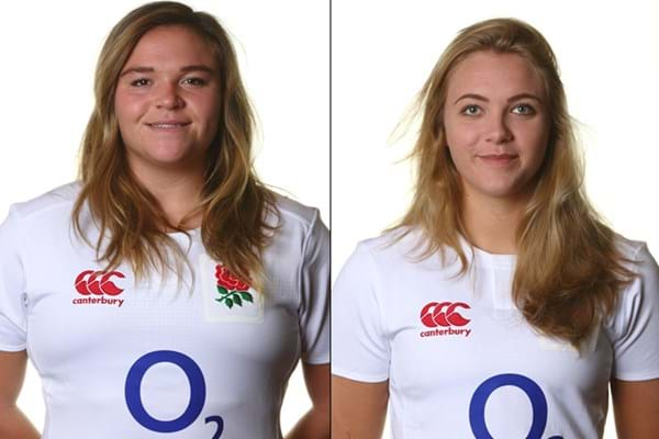 Image for New Gloucester-Hartpury duo named in 28 player England World Cup squad