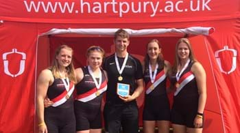 Rowers revel as they record fourth British Championships win in five