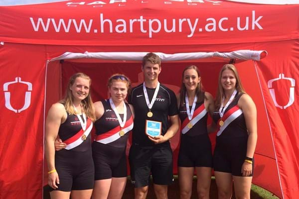 Image for Rowers revel as they record fourth British Championships win in five