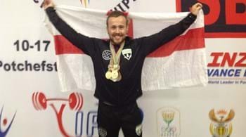 Webb weaves his way to powerlifting golds in South Africa