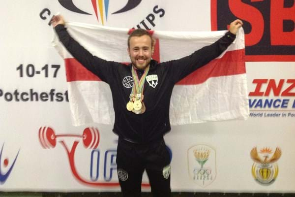 Image for Webb weaves his way to powerlifting golds in South Africa